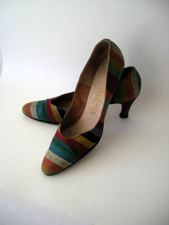 Vintage 1960 Shoes by judystephenson on Etsy, $18.00