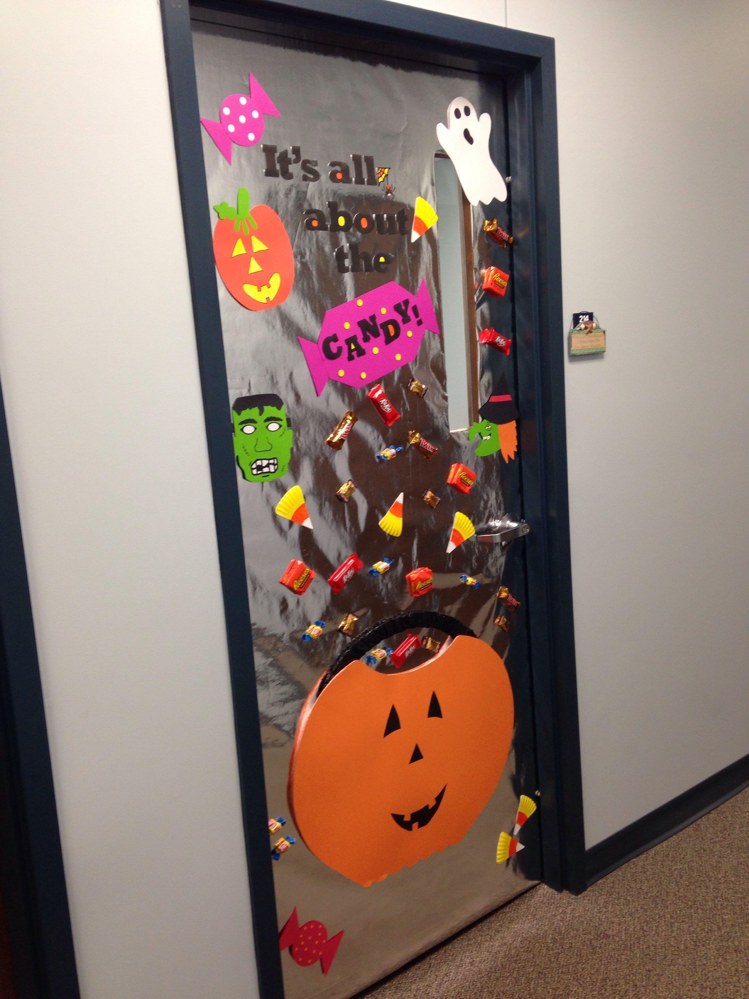 Halloween Office Door Decoration Halloweendoordecorations