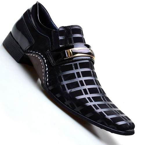0a3da0243 Kit 2 Pares Sapato Social Couro Masculino + Cinto + Frete Br - R$ 129,99    Men's Shoes   Shoes, Men's wedding shoes e Formal shoes for men