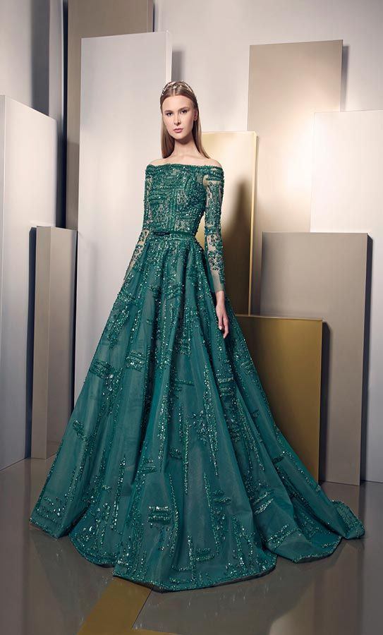 Elegance And Brilliance Through New Ziad Nakad Summer 2016 Dress Collection All For Fashion Design Gowns Fashion Dresses Dresses