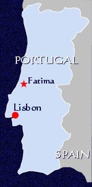 Fatima Portugal Map Where Is Fatima Located | Location (map of) Fatima, Portugal