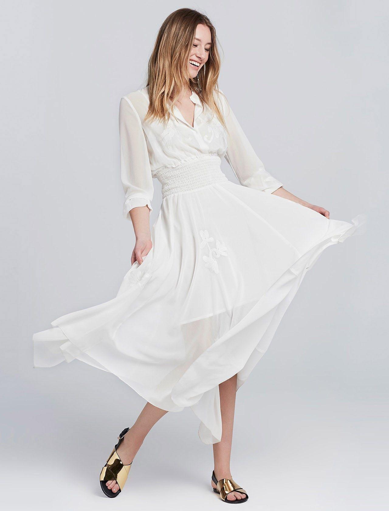 Ipekyol Ipekyol Beyaz Kadin Elbise Elbise Kadin The Dress Elbise