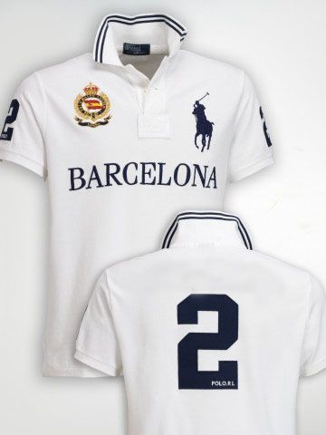 Picture of Mens Ralph Lauren Custom-Fit Big Pony City Polo Barcelona