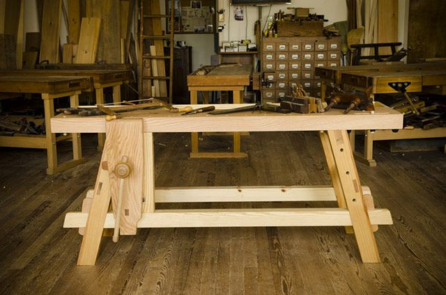 Free Workbench Plans For The Moravian Workbench