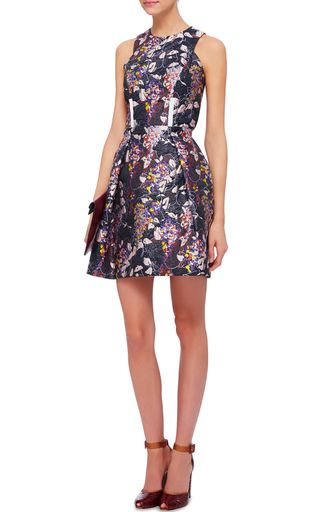Carven floral dress Find Great Sale Online Discount Very Cheap Discounts Online XfUqW