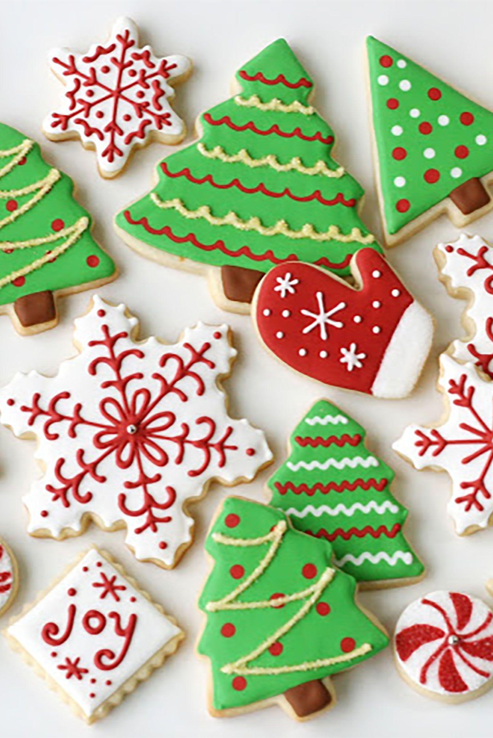 Image result for royal icing christmas cookies Christmas