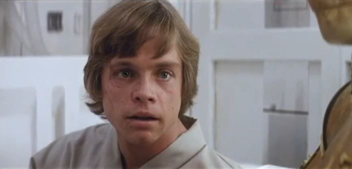 Luke On Medical Station Deleted Scene Mark Hamill Star Wars Empire Star Wars Movie
