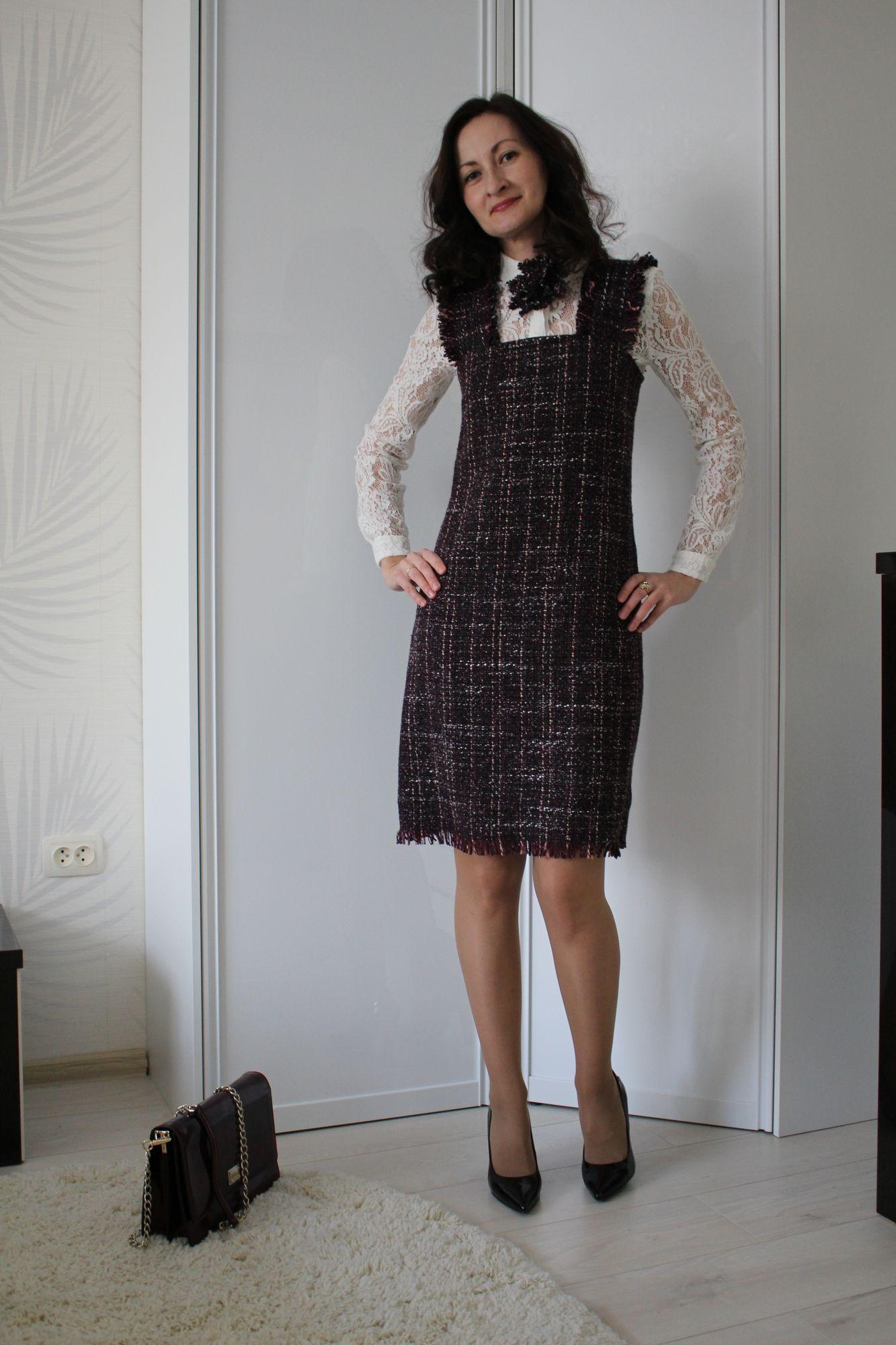 "Сарафан ""немного Шанель"" / Katerina77 / 22.12.2016 / Фотофорум BurdaStyle"