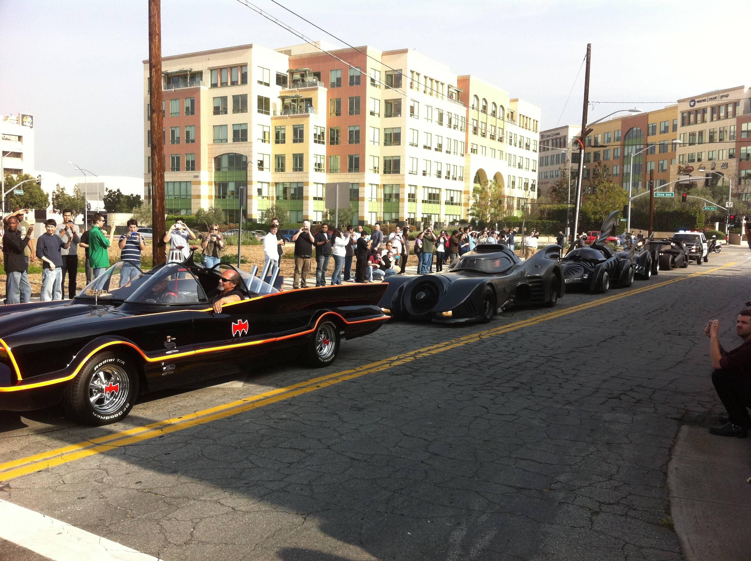 Batmobile Caravan From Reddit User Trackerpro Batman Batmobile