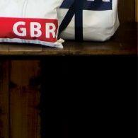 Britannia Rectangular Sailcloth Cushion ~ Quba & Co.