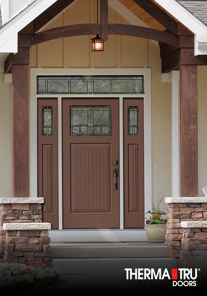 therma tru classic craft canvas collection fiberglass door