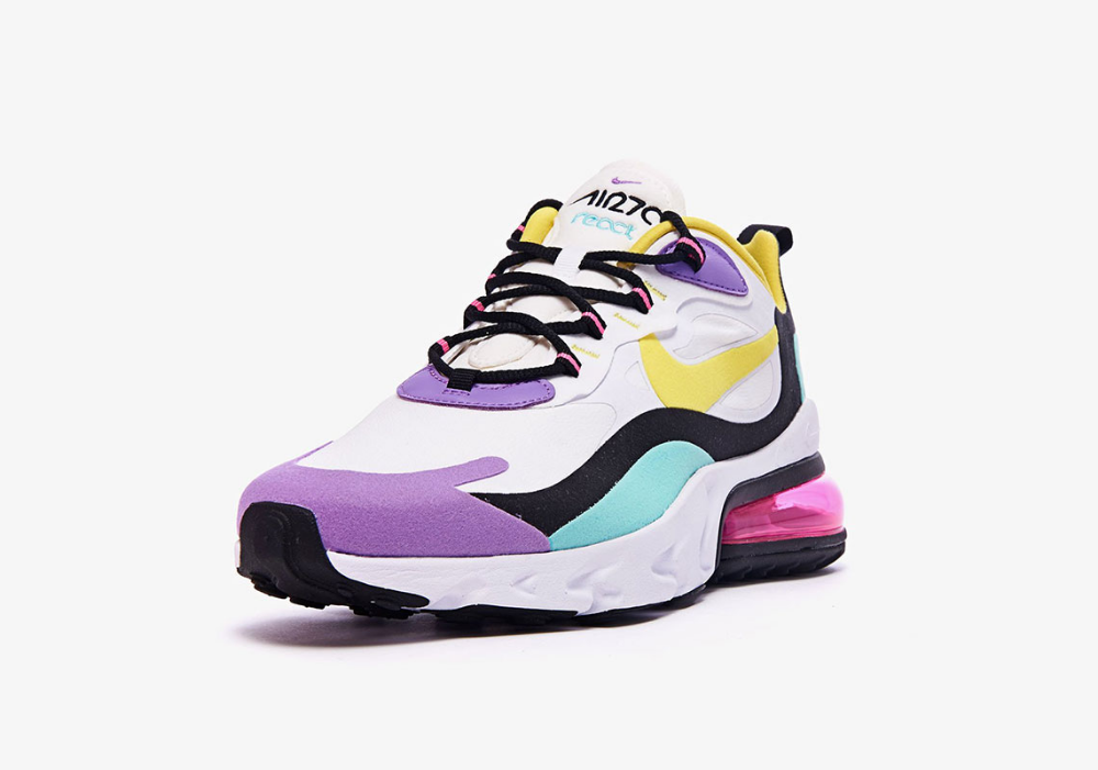 Nike Air Max 270 React Bright Violet AO4971 101 Release Date