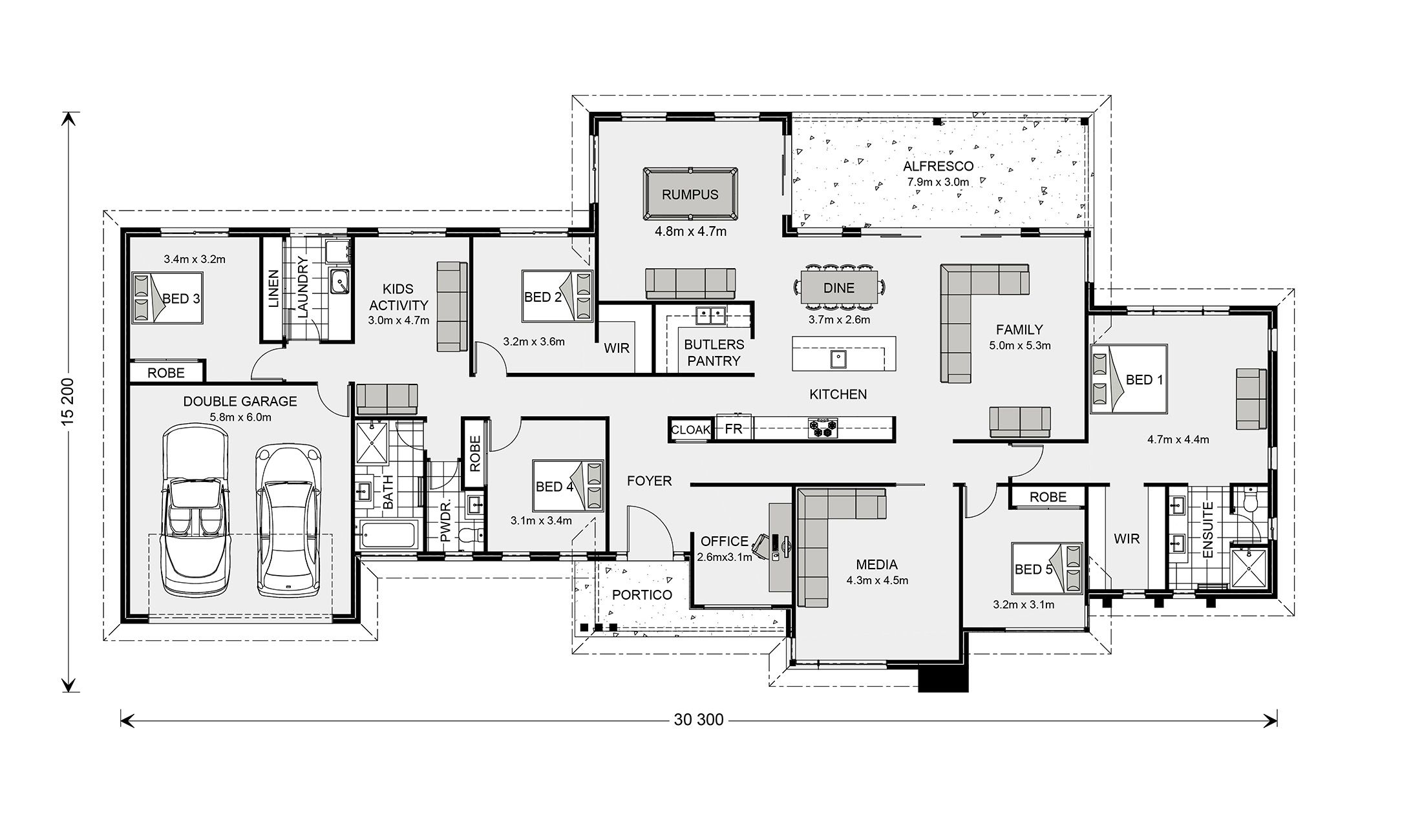 Floor Plan House Plans South Africa House Plans Luxury House Plans