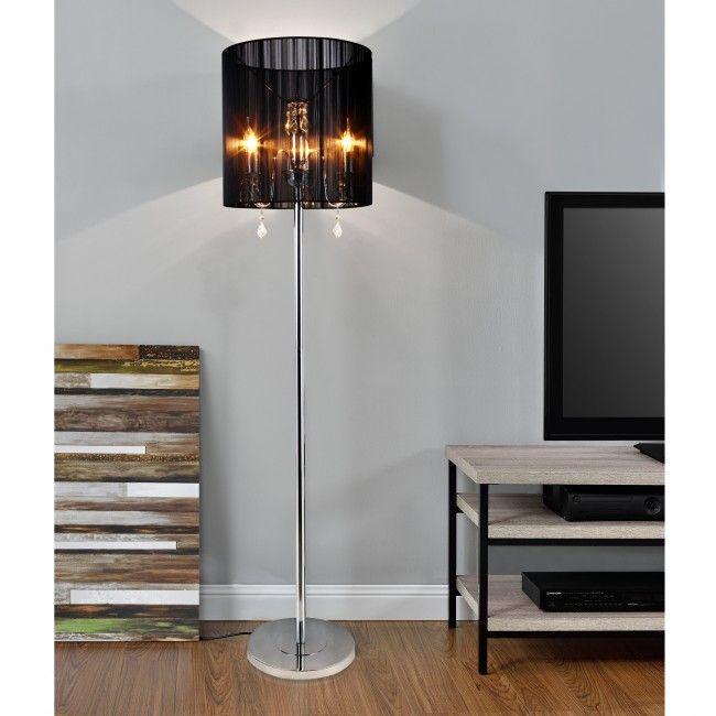 lux.pro]® Elegáns állólámpa - nappali világítás - Állólámpák ...