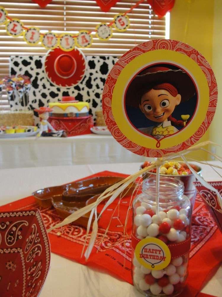 Jessie Toy Story Birthday Party Ideas Toy Story Birthday Toy