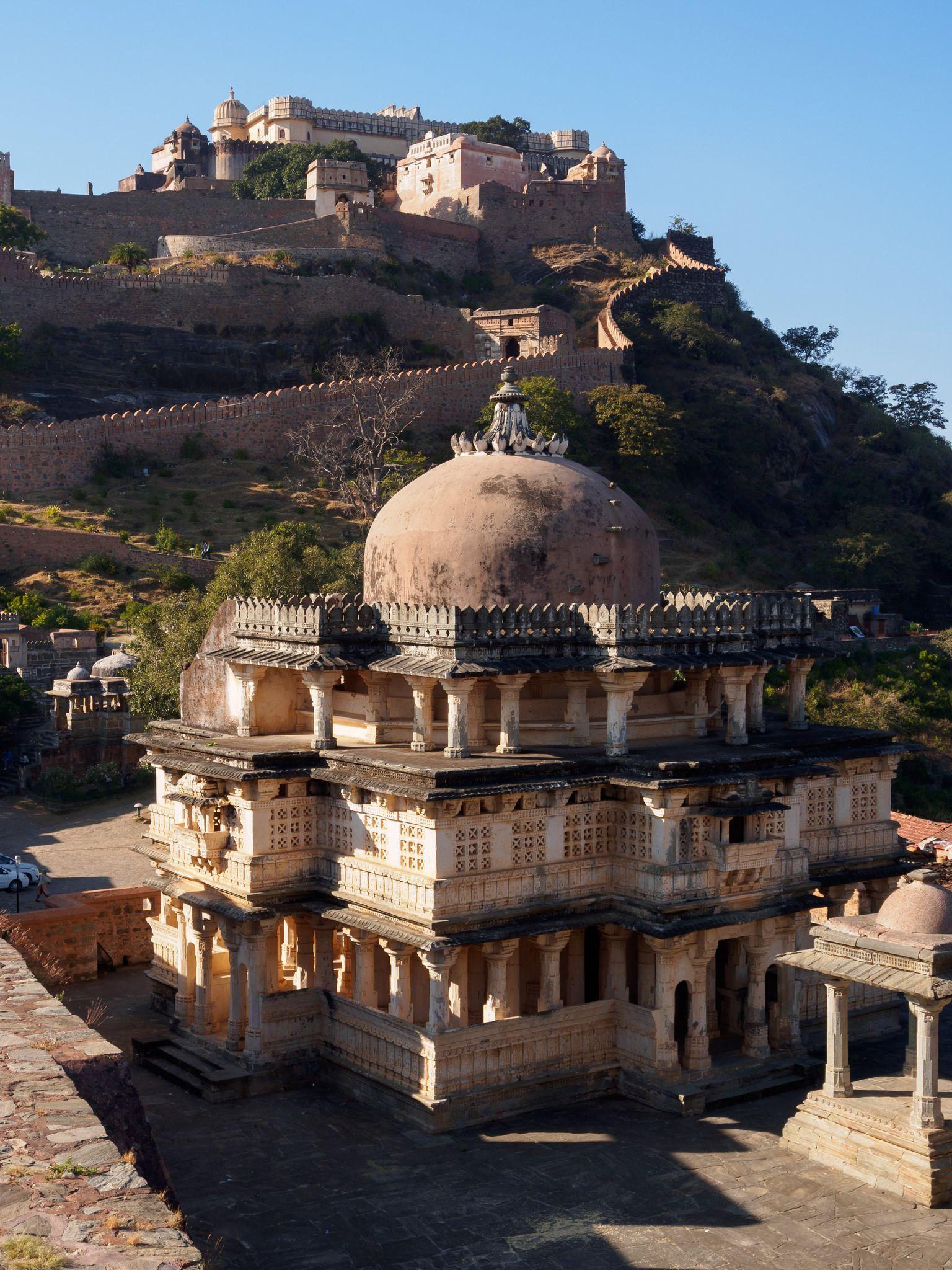 Kumbhalgarh Fort in 2020 Rajasthan india, India