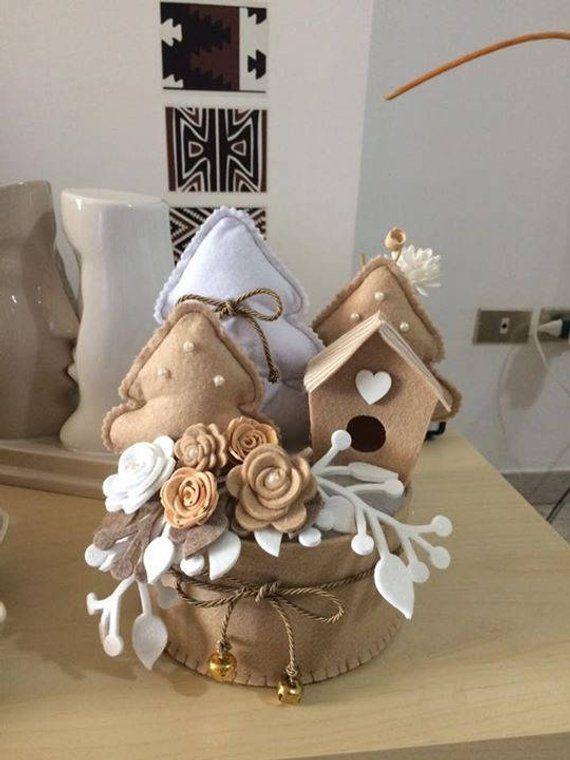 Articoli simili a Paesaggio natalizio shabby su Etsy  Villaggi natalizi  Christmas crafts for