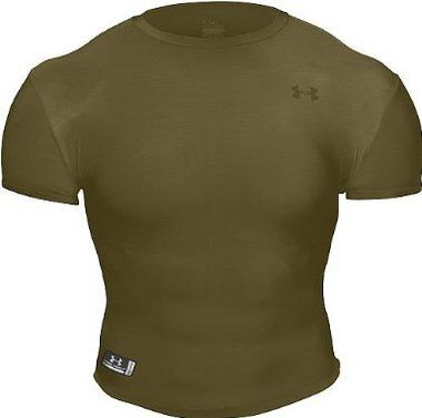 Under Armour HeatGear Tactical Full T-Shirt. It all started here: the HeatGear Full T. You'll never wear a non-performance T-shirt again. Featuring the tactical stealth logo. Imported.