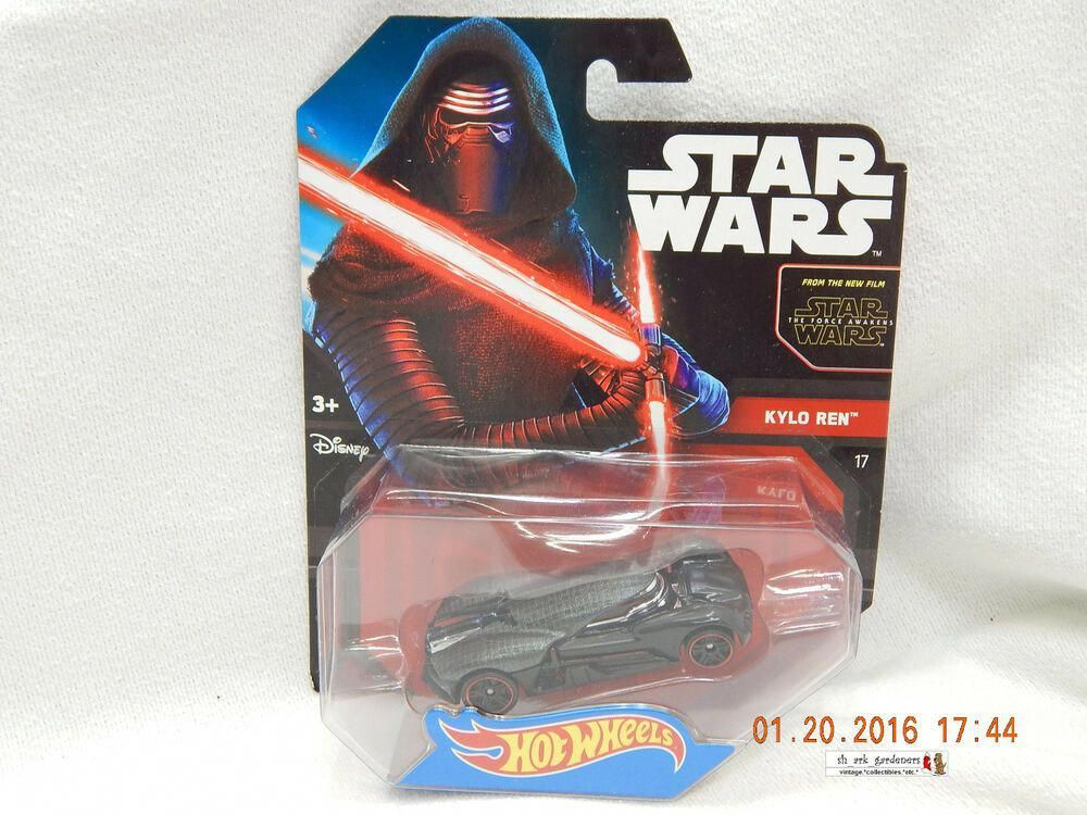 Hot Wheels Kylo Ren Star Wars The Force Awakens 2014 Made In Thailand New Hotwheels Unknown Starcitizenvanduul In 2020 Star Citizen Star Wars Vehicles Hot Wheels