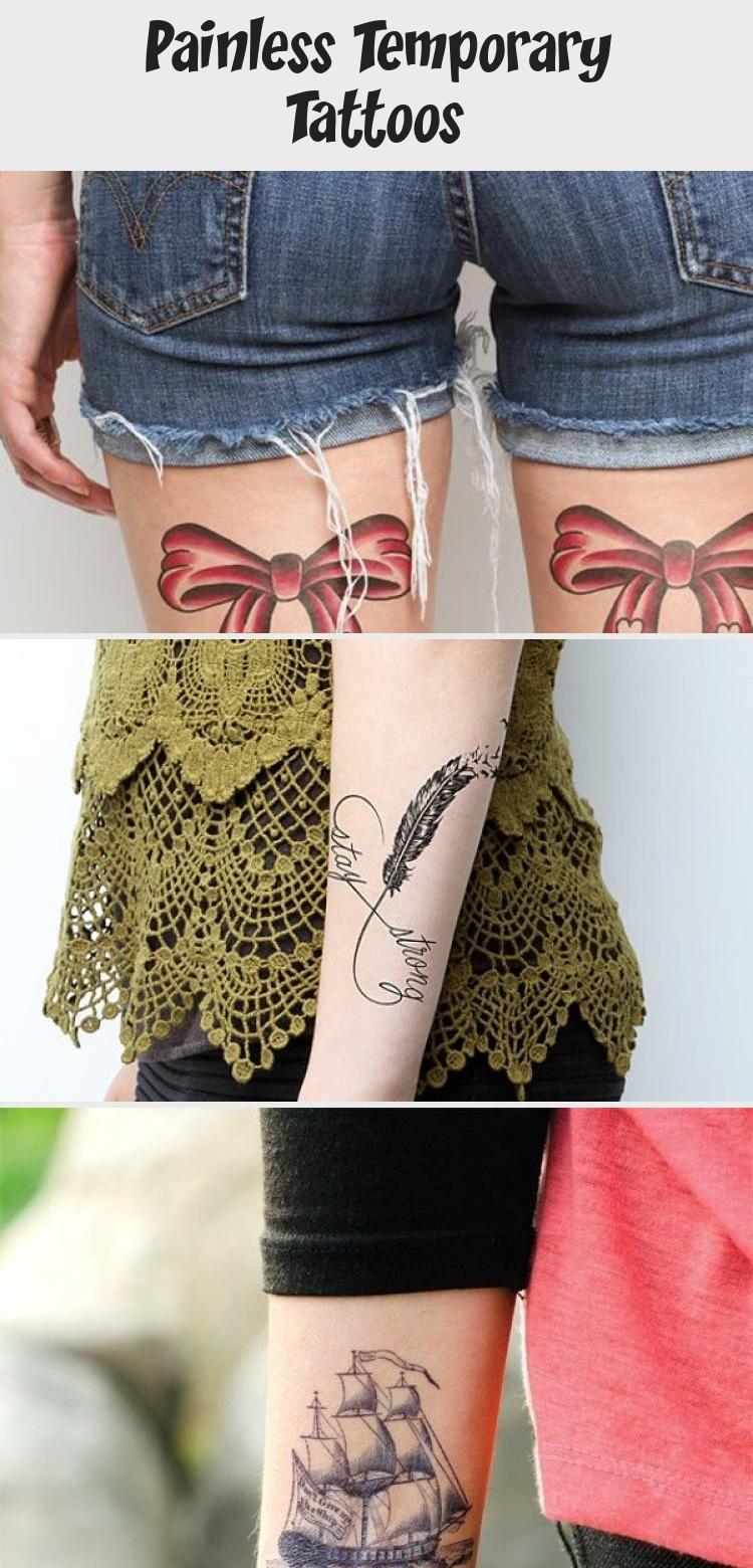Painless Temporary Tattoos Tattoo İdeas compass