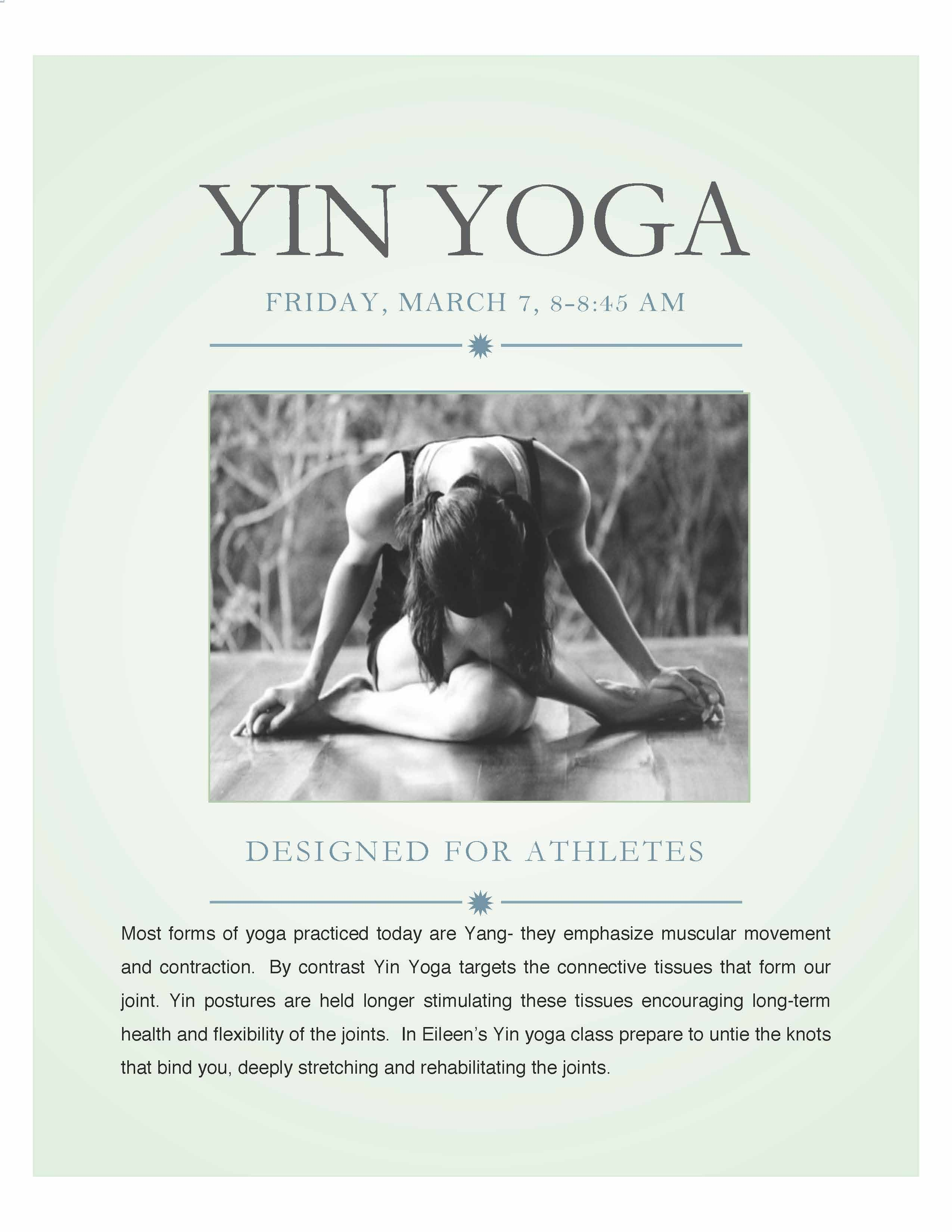 Ridiculously in love with yin. Calms my mind more than I even realize.