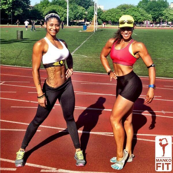 Sexy fit black women