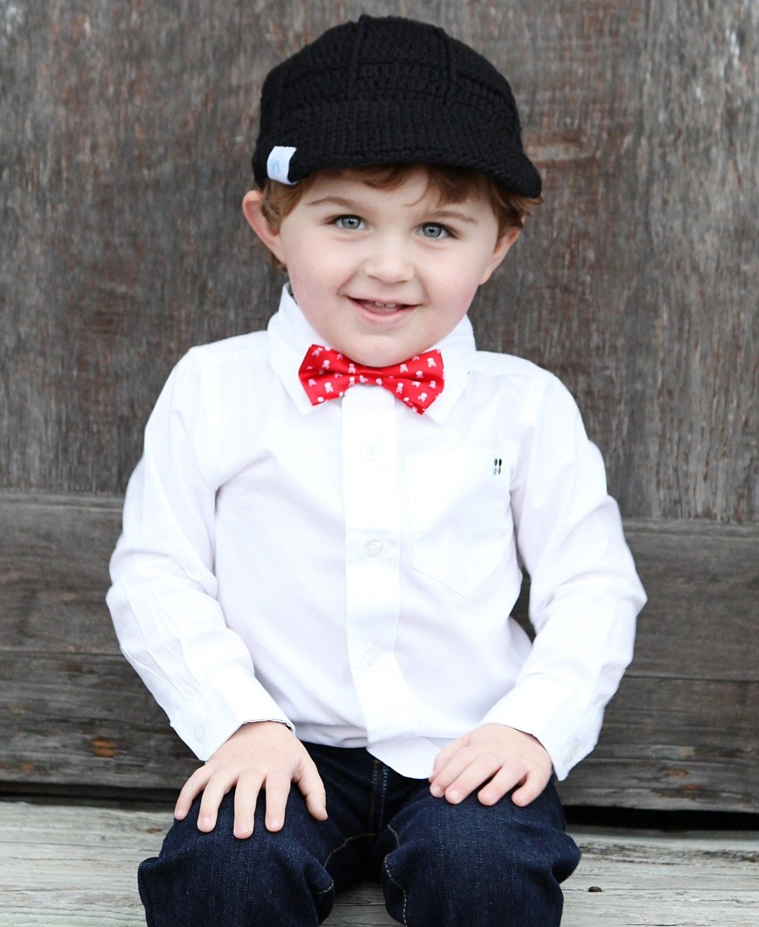 RuggedButts Baby//Toddler Boys Pre-tied Bow Tie//Bowtie