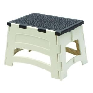 Plastic 1 Step Stool 300 Lb Load Capacity Pl 1 At The