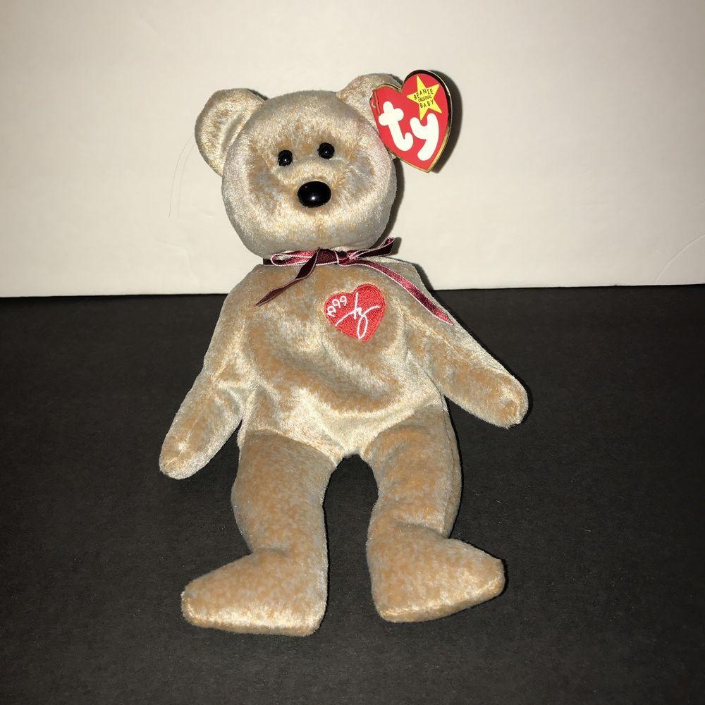 Ty Beanie Babies 1999 Signature Bear  51646b53089