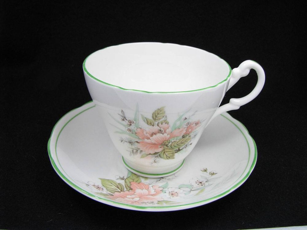 #VINTAGE REGENCY ENGLISH BONE CHINA CUP & SAUCER #regency #england #madeinengland #englishtea #tea