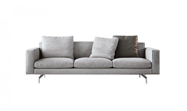 Minotti Sherman bank | Van der Donk interieur | zetels | Pinterest ...