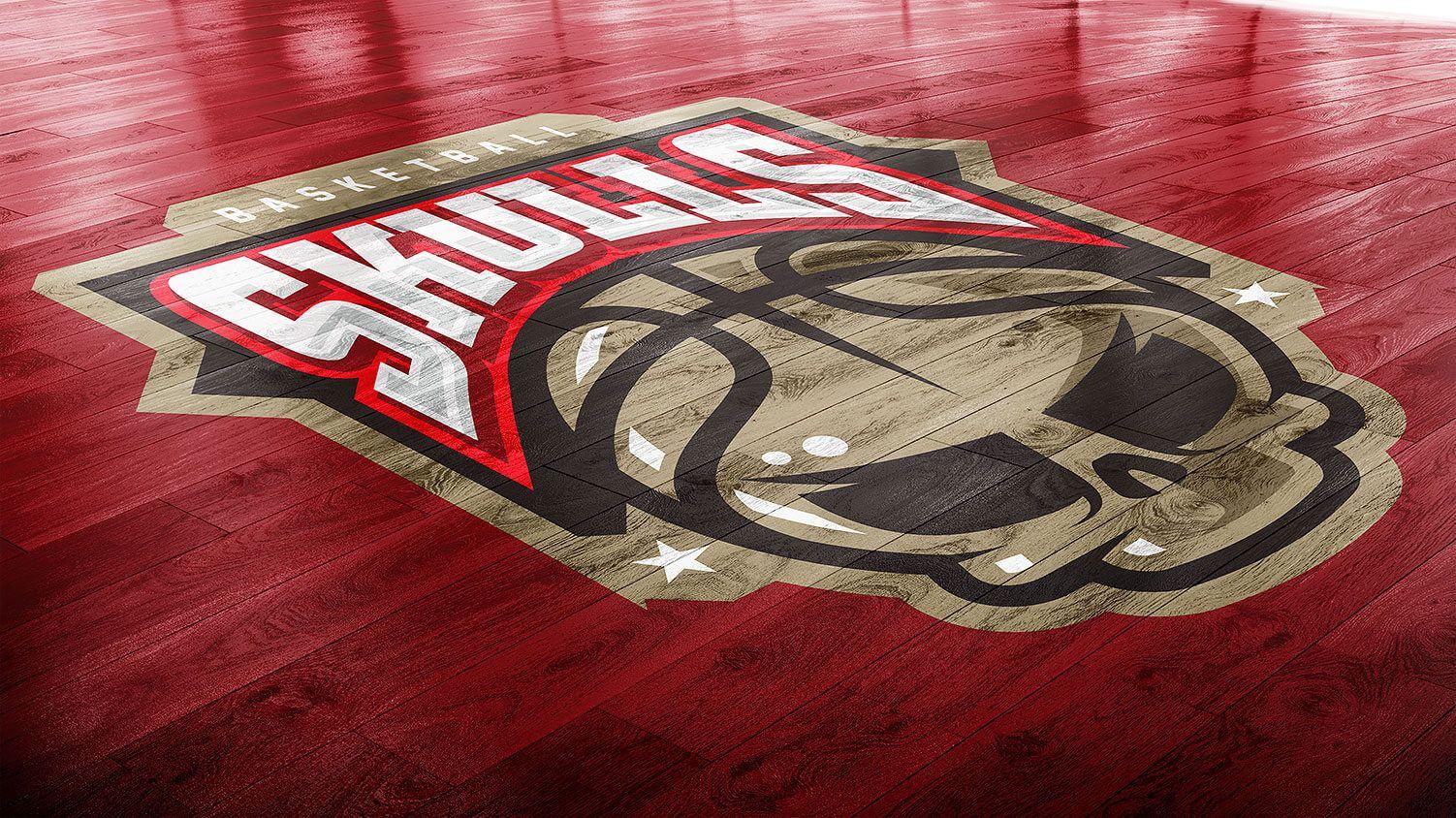 Download Basketball Court Photoshop Logo Mockup Photoshop Logo Basketball Court Logo Mockup