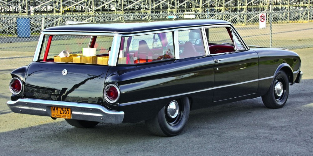 The Grocery Getter 1962 Ford Falcon Tudor Wagon In 2020 Ford Falcon Wagon Ford
