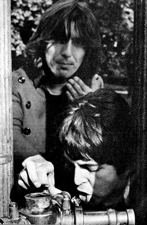 George H. Harrison♥♥S. J. Paul McCartney
