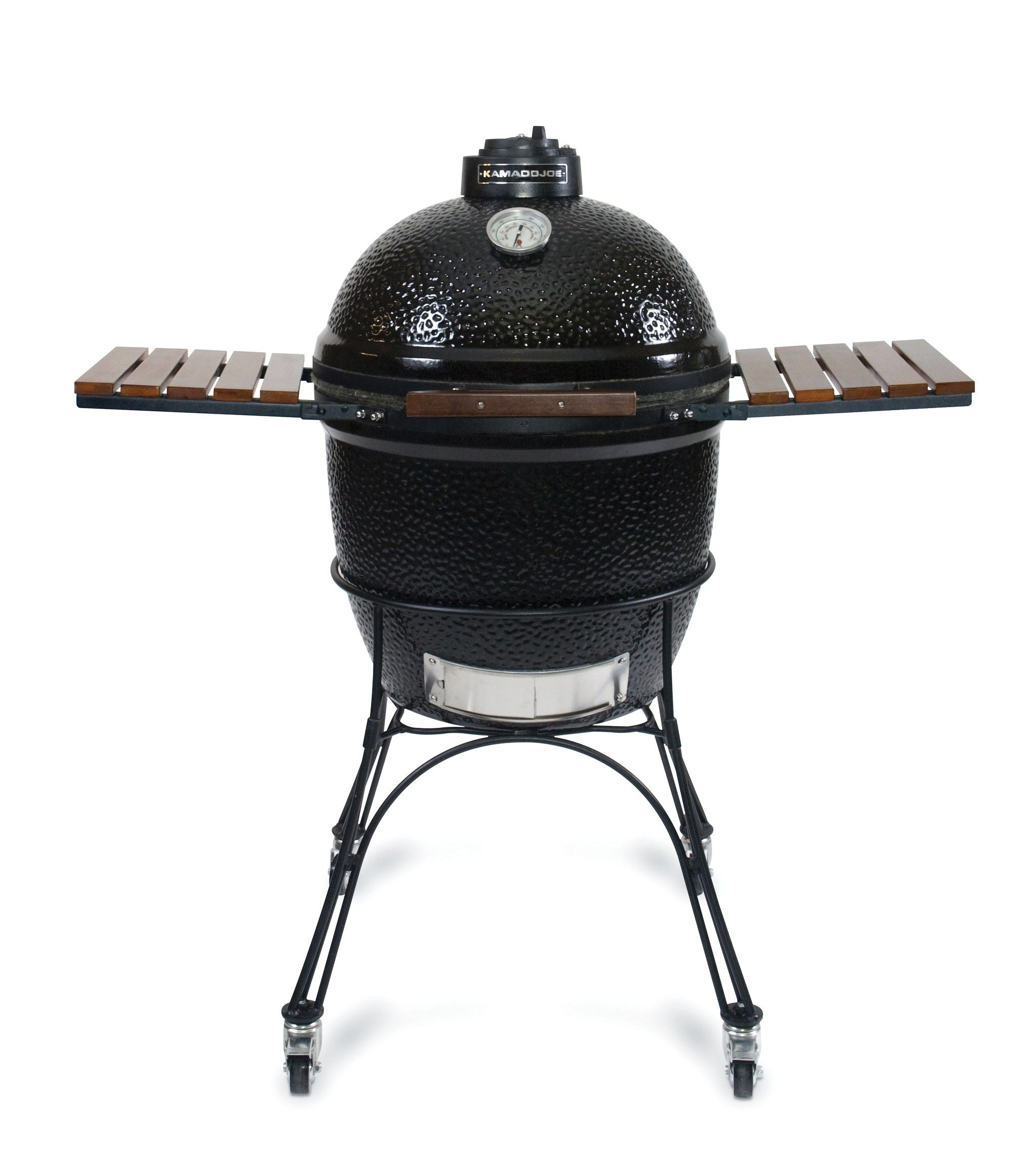 Black Do Joe Clic With Cart And Side Shelves Like Thomas Lumber On Facebook Receive A 5 All Grills Grill Accessories Through