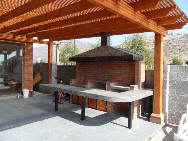 Proyecto santa luz 1 terraza quincho y piscina for Terrazas quinchos