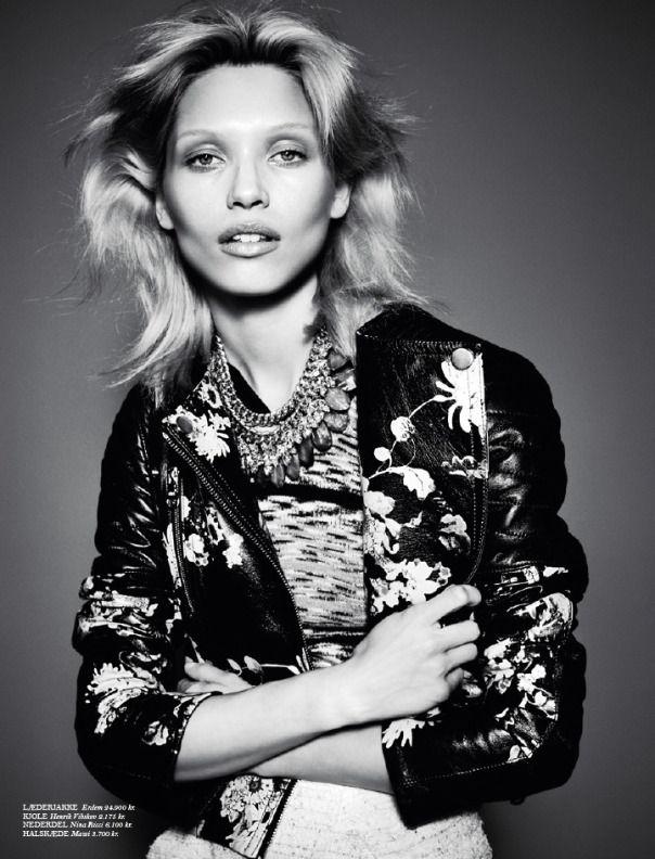 Hana Jirickova by Hasse Nielsen for Cover Magazine February 2014