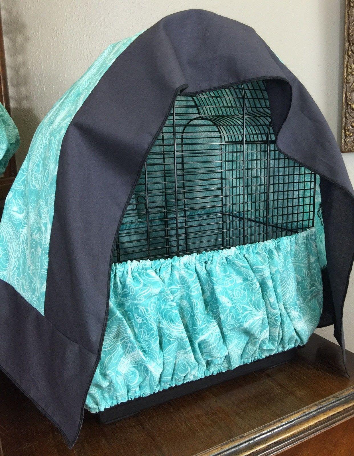 Bird cage skirt seed catcher