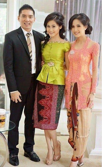 Model Batik Modern Ibu Anak Annisa Pohan Dan Putrinya Qbaya Com