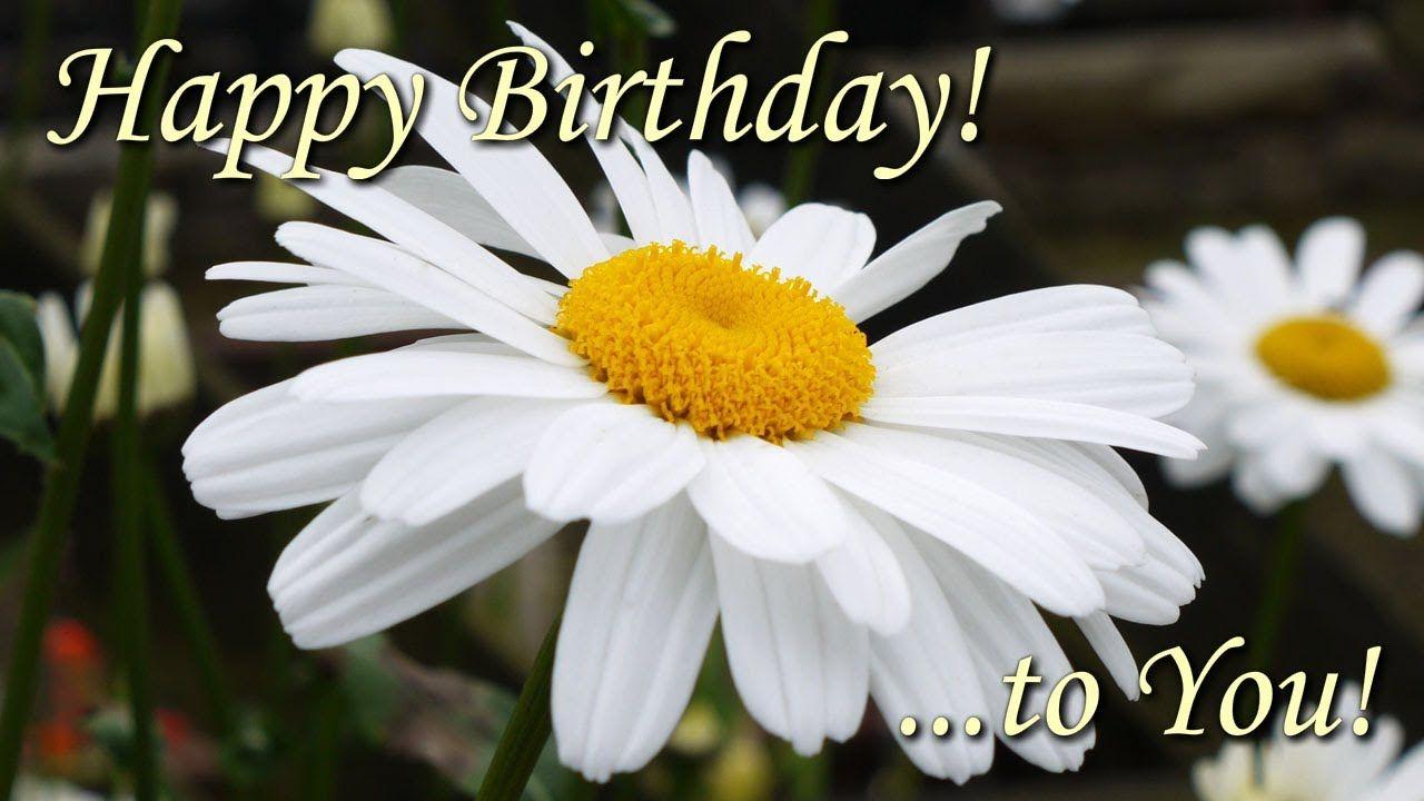 Happy Birthday To You Beautiful Flowers Pictures With Best Birthday Song Happy Birthday Rose Happy Birthday To You Happy Birthday Flower