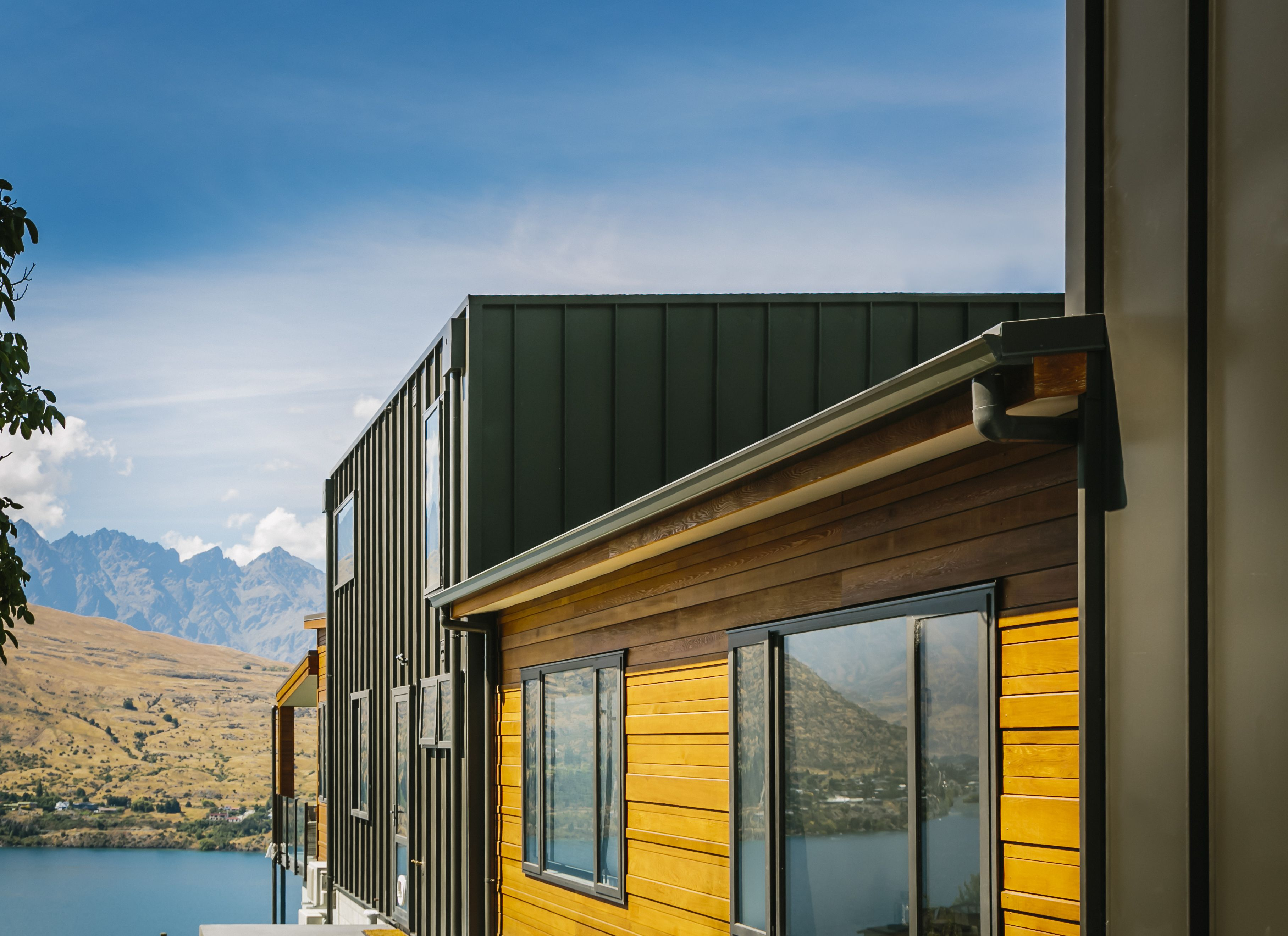 Best Colorsteel® Ironsand Roofing And Cladding Queenstown New 400 x 300