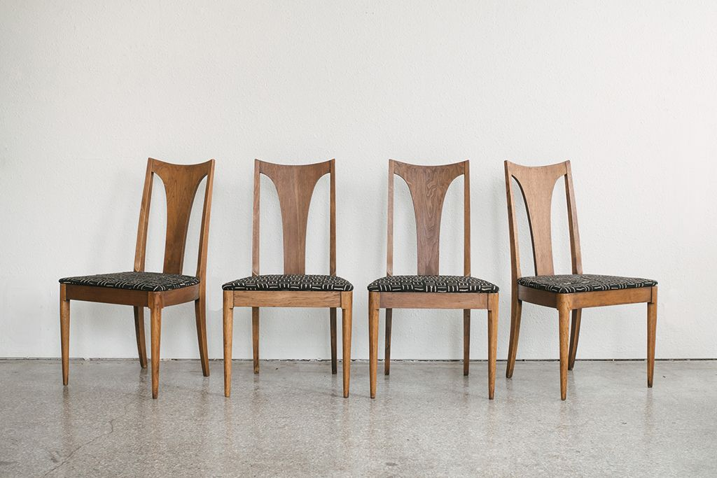 Fabulous Mid Century Sculptra Dining Chairs Homestead Seattle Download Free Architecture Designs Viewormadebymaigaardcom