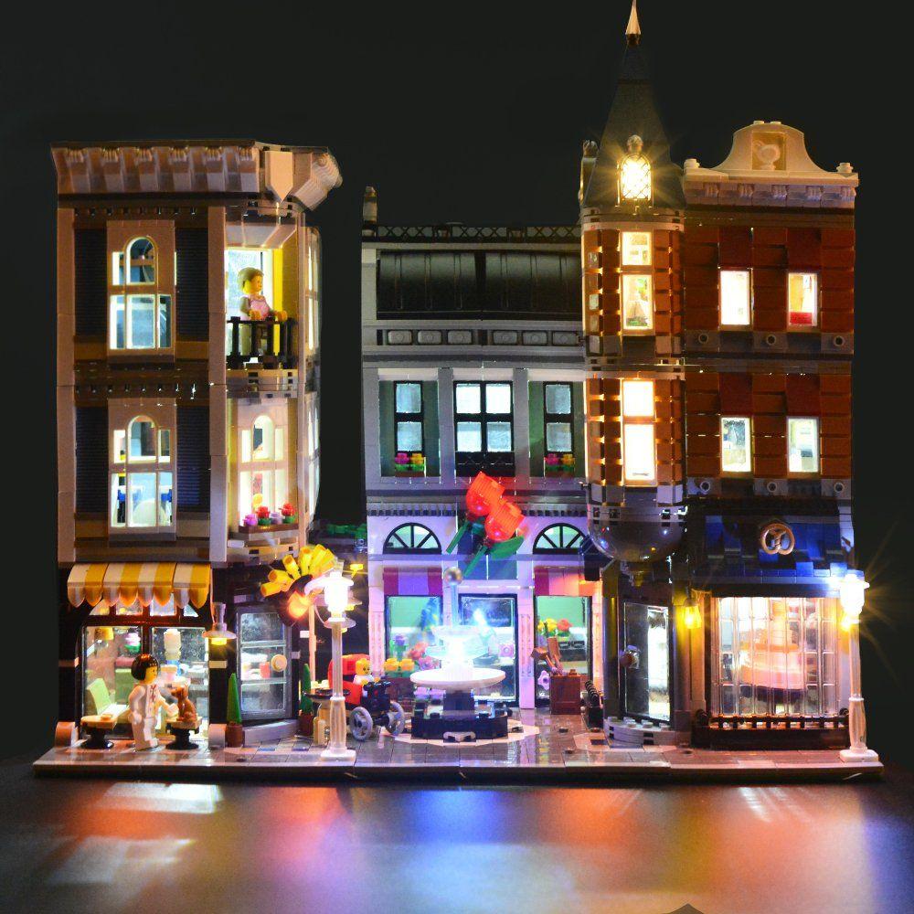 Lightailing Licht Set F R Assembly Square Creator Expert Modell Led Licht Set Kompatibel Mit Lego 10255 Modell Nicht Enthalten In 2020 Led Licht Led Licht
