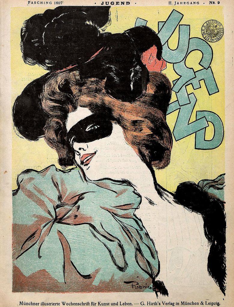 Beautiful Century: Jugend Magazine, 1897.  (via mudwerks)