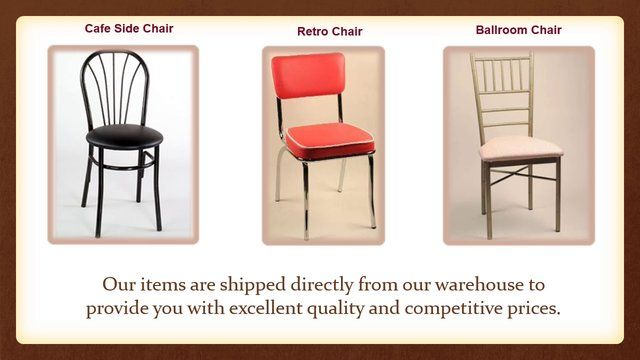 We ship anywhere in the United States. We can also arrange for overseas transportation to the Caribbean Islands.    http://commercialseats.com/