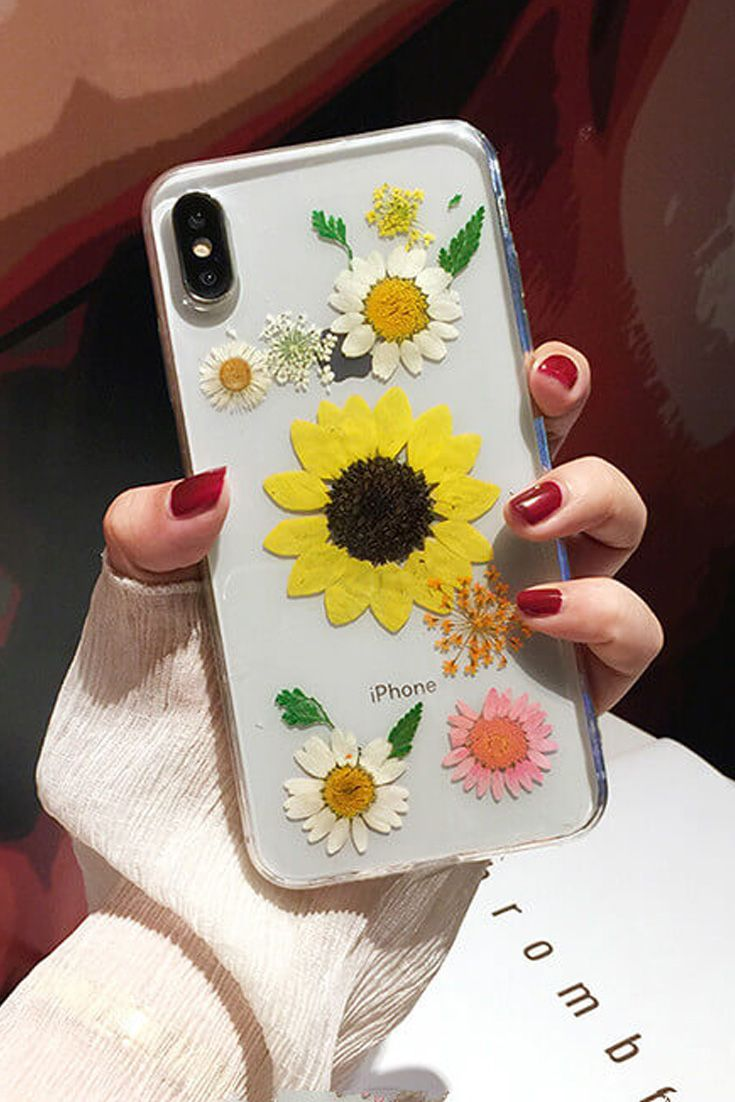 Pressed Flower IPhone 11 Pro Max Protective Cases In 2020