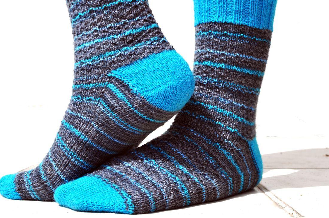 Free Knit Pattern: Toe-up Sock Recipe by La Maison Rililie | Knit ...