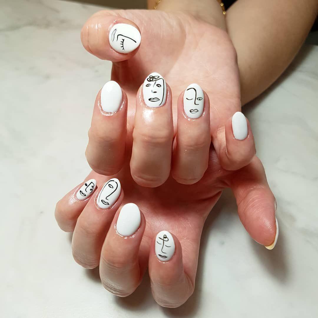 Pin By Whit Sarabia On Nail Nail Art Abstract Nail Art Nail Designs
