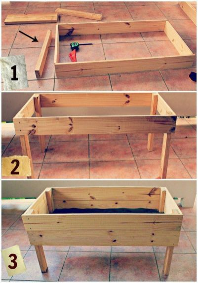 30+ Easy Diy Wooden Raised Planter For Simple Garden That You Could Create Itself -   test pages