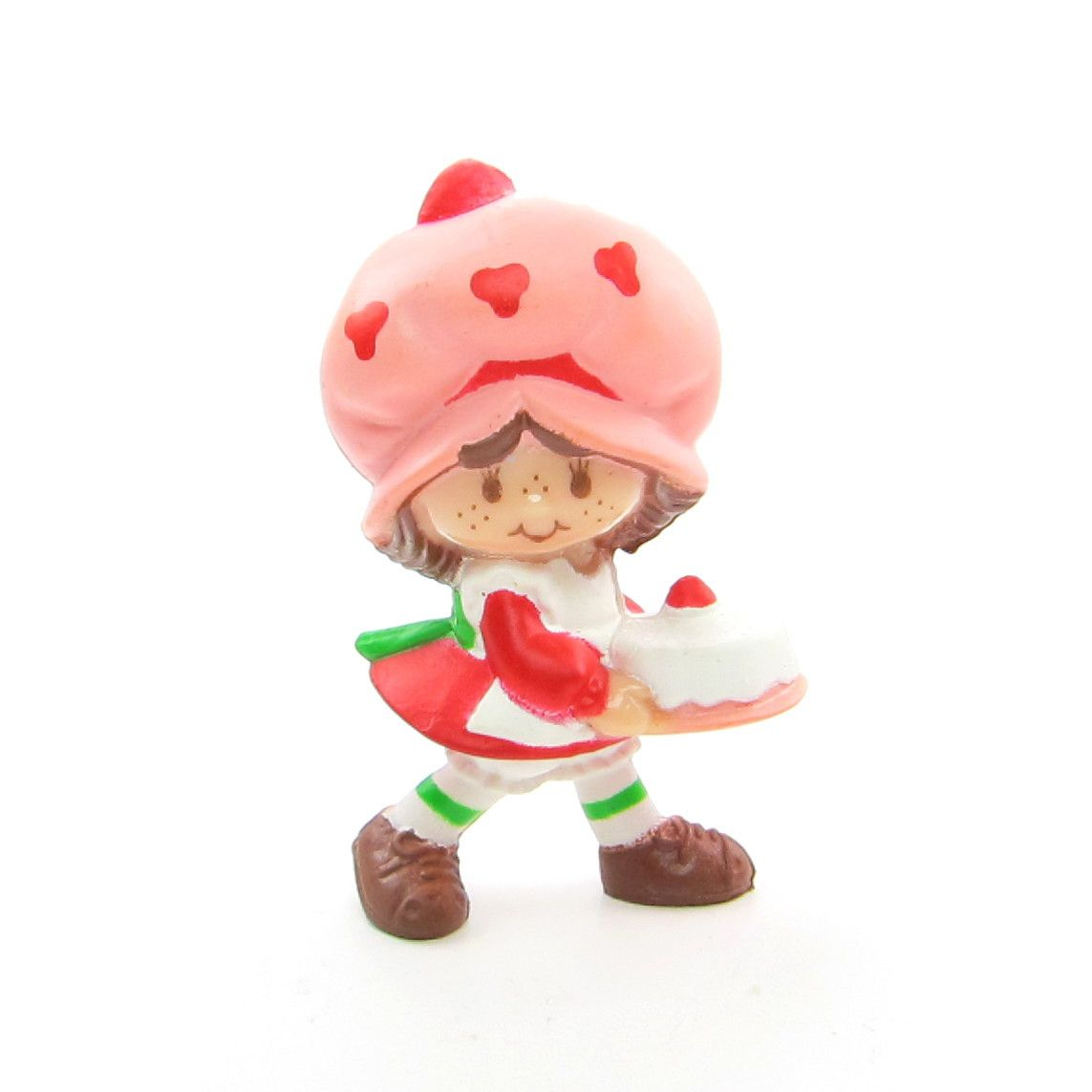 Strawberry Shortcake with a birthday cake figurine